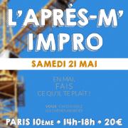 L'après-m' impro - Stage théâtre le samedi 21 mai 2016